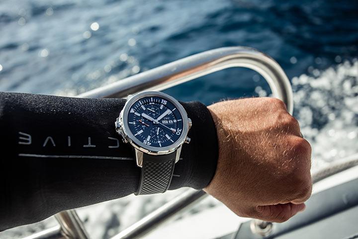 Reloj de buceo IWC Aquatimer para buceador
