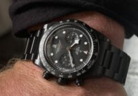 Reloj Tudor Black Bay Cronógrafo con agujas Snowflake