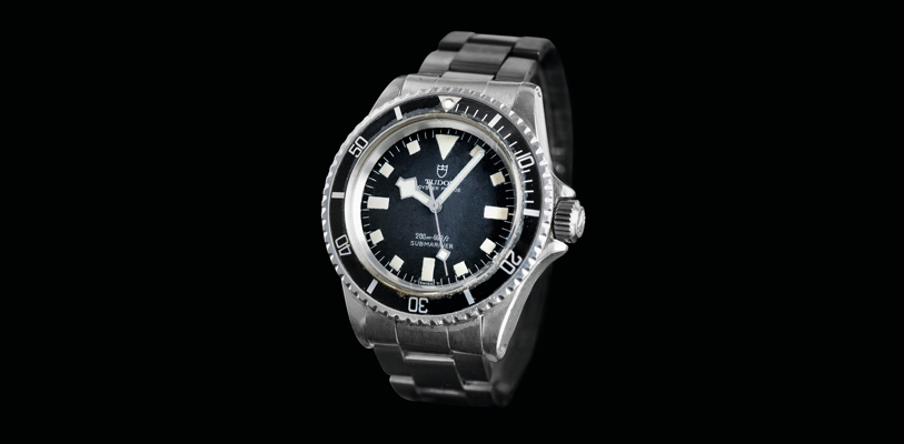 """Reloj Tudor Oyster Prince Submariner de 1969 con las primeras agujas """"snowflake"""""""