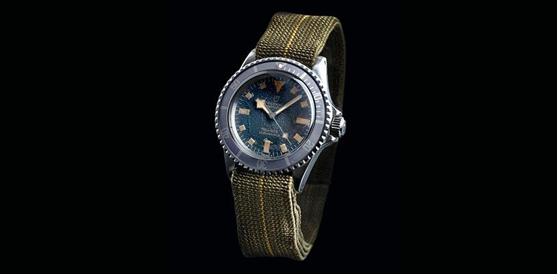 Reloj Tudor  Oyster Prince Submariner de 1977 de la Marina Nacional francesa.