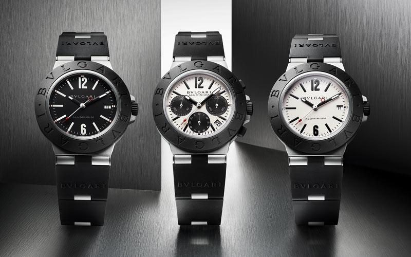 Colección de relojes Bulgari Aluminium