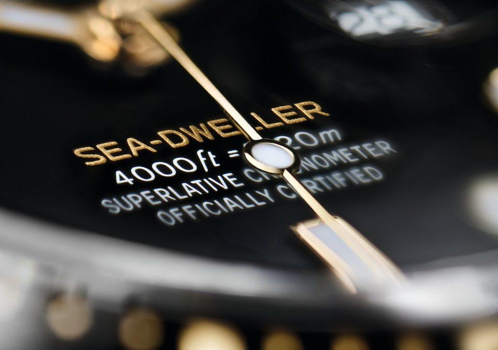 Esfera Rolex Sea-Dweller
