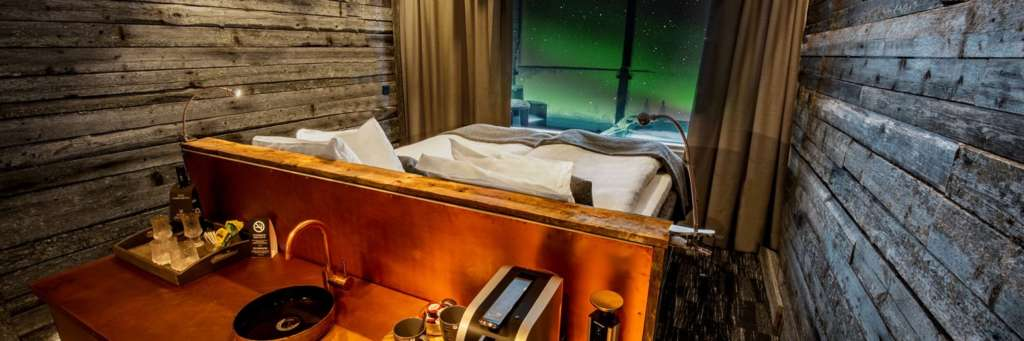 Aurora boreal: Hotel Syöte aurorasuites