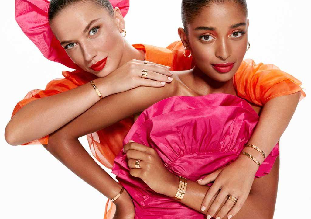 Modelos con las joyas RABAT Three Wishes