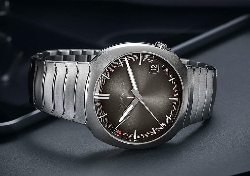 reloj Streamliner Perpetual Calendar representa el deseo de H. Moser & Cie de desempolvar la relojería tradicional suiza con un cierto atrevimiento tanta estético como técnico.