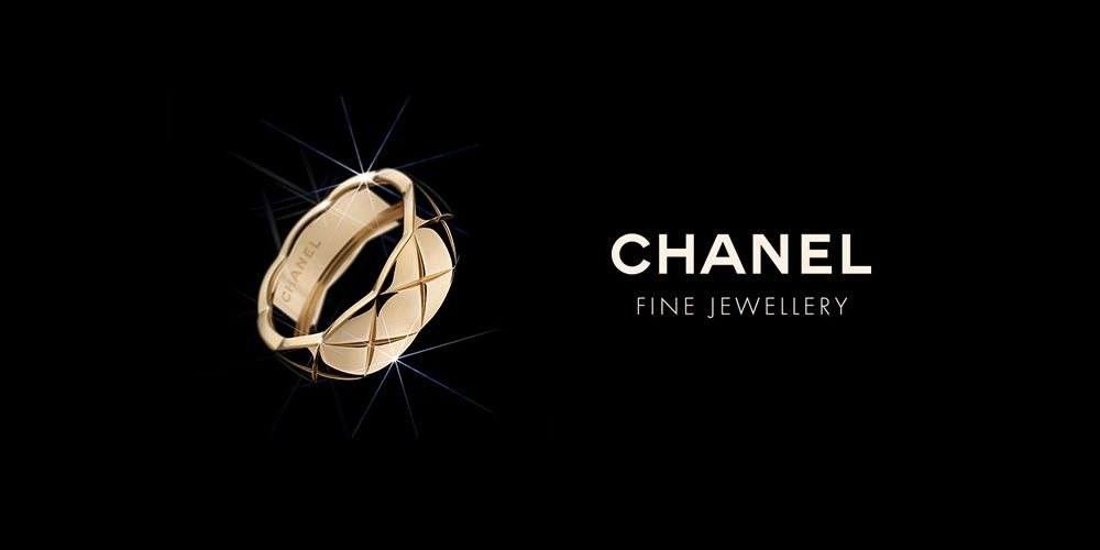 Anillo CHANEL Coco Crush M de oro beige