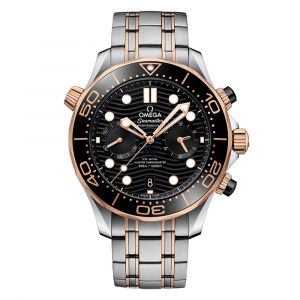 Omega Seamaster Diver 300M Co-Axial Master Chronometer Chronograph 44