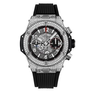 Hublot Big Bang Unico Titanium Pavé