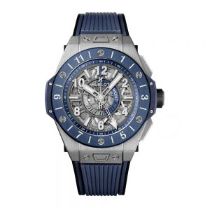 Hublot Big Bang Unico GMT Titanium Blue Creamic