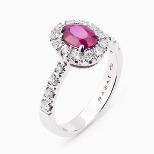 Ruby & Diamonds Ring