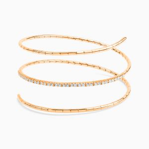 Rose Gold Bracelet with Diamonds