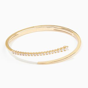Bracelet Rabat rose gold with diamonds