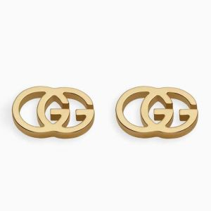 Gucci stud earrings in yellow gold
