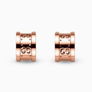 Gucci earrings in rose gold