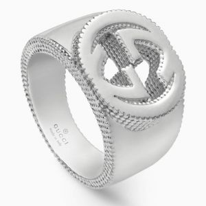 Gucci ring in stering silver