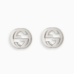 Gucci stud earrings in sterling silver