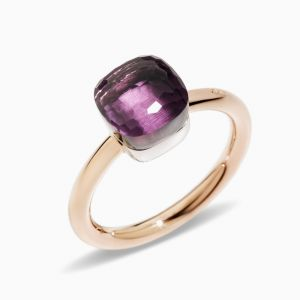 Pomellato Ring with Amethysts