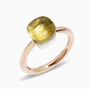Pomellato Ring with Lemon Quartz
