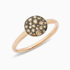Anillo Pomellato con Diamantes Brown