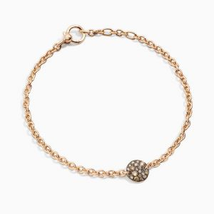 Pulsera Pomellato con Diamantes Brown