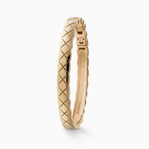 Bracelet CHANEL Coco Crush beige gold
