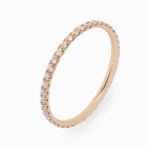 Ring Rabat Always U Thin rose gold with diamonds