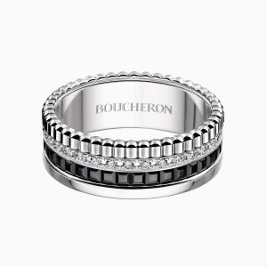 Anillo Boucheron Quatre Black Edition