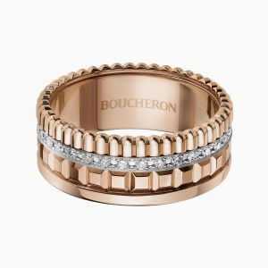 Anillo Boucheron Quatre Radiant con Diamantes