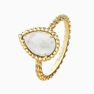 Serpent Boheme Ring with Mother of Pearl