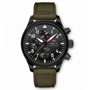 "IWC Schaffhausen Pilot's Watch Chronograph Top Gun ""SFTI"" Edition IW389104"