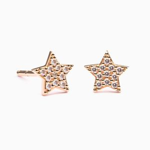 Diamonds Star Earrings AMULETTO