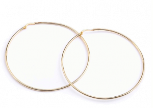 Hoops in Yellow Gold