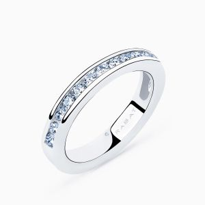 Bridge of Love Diamonds Wedding Band
