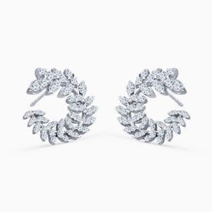 "Pendientes de Diamantes ""Corona de Laurel"""