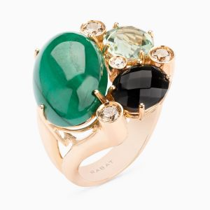 Couloured Gemstone Ring