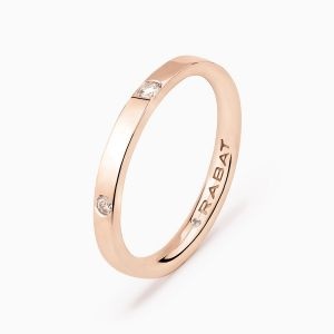Poetic wedding band