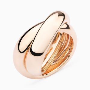 Rose Gold Ring Small Multi Band