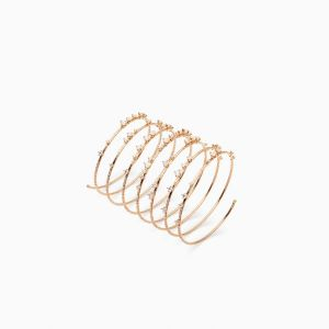 Rabat rose gold bracelet with diamonds (4,43 cts.)
