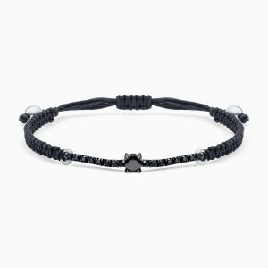 Diamond Bracelet with Black Sting