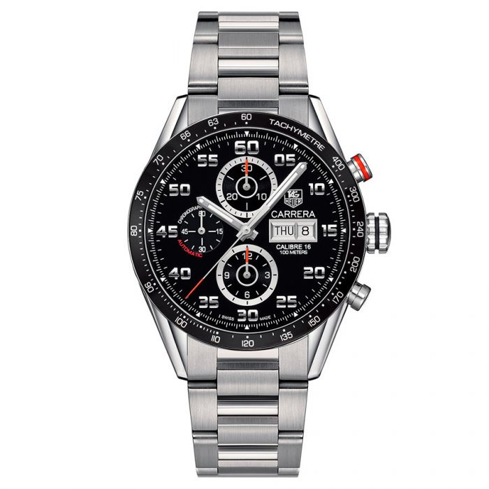 f03be12030b TAG Heuer Carrera Calibre 16 Day-Date Automatic Chronograph CV2A1R.BA0799