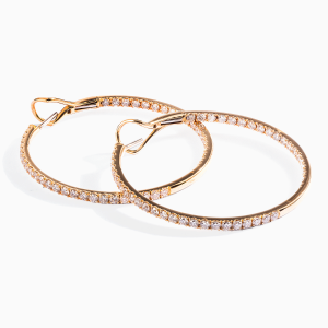 Diamonds Hoops