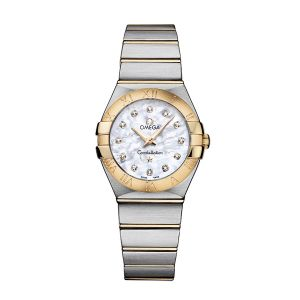 Omega Constellation Brushed