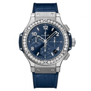 Hublot Big Bang Steel Blue Diamonds 41