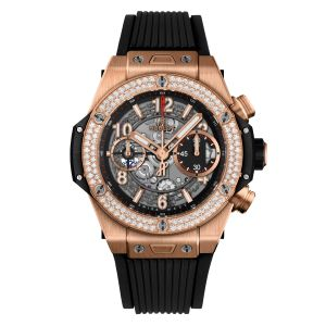 Hublot Big Bang Unico King Gold Diamonds