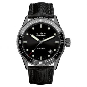 Blancpain Bathyscaphe Fifty Fathoms Titanium