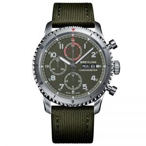 Breitling Aviator 8 Chronograph 43 Curtiss Warhawk