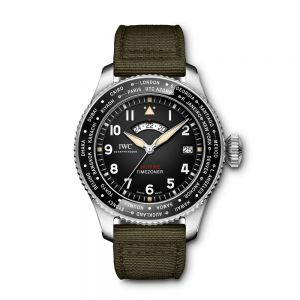 "IWC Reloj de Aviador Timezoner Spitfire Edición ""The Longest Flight"""