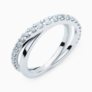 Cross Diamond Ring