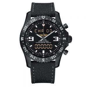 Breitling Chronospace Military Black Steel