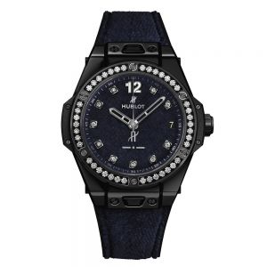 Hublot Big Bang One Click Italia Independent Dark Blue Velvet 39